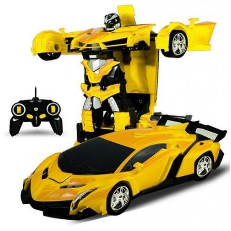 Transforming Robot Warrior RC Car