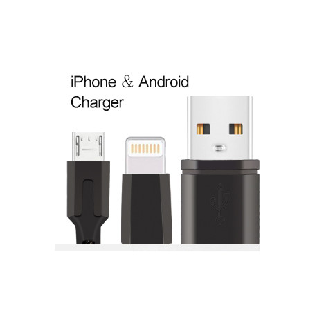 Top Tier USB 2 in 1 Apple/Android Cable